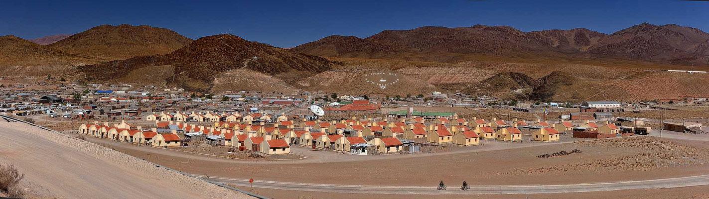 Das Neubauviertel von San Antonio de los Cobres.