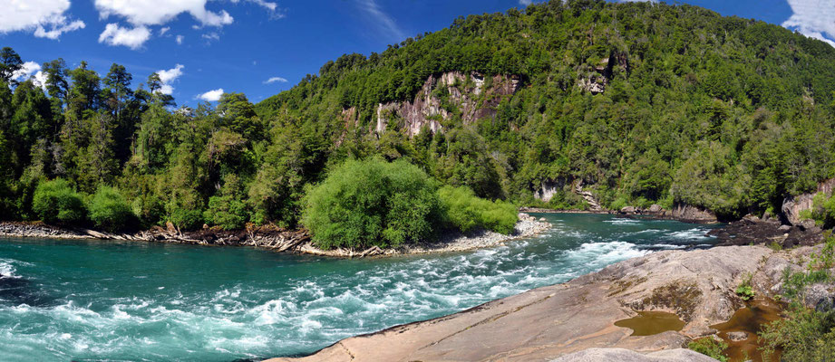 Der Rio Futaleufu, ein herrlicher Raftingfluss.