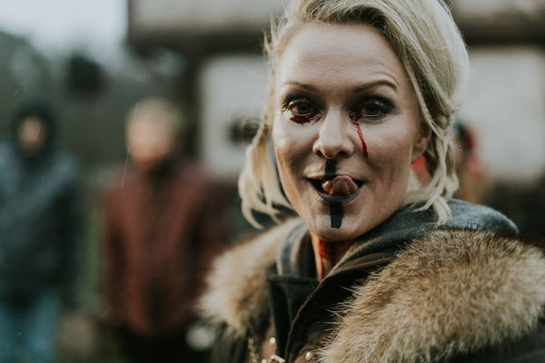 Evi Meinardus - Film Skorya 2019 - Priesterin Neyra - Mittelalter Fantasy - Foto: Thomas Damm