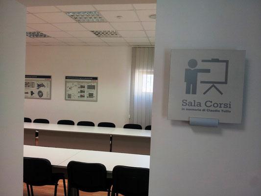Sala Corsi dedicata alla memoria di Claudio Tullio