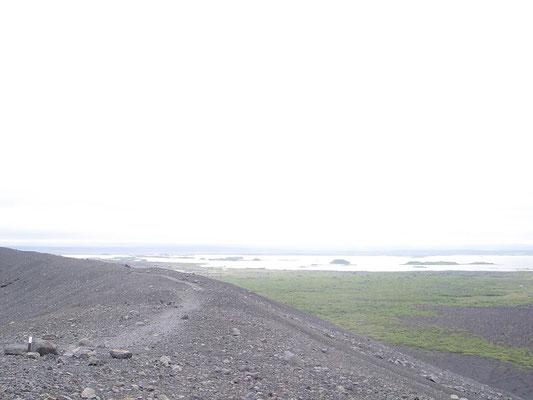 Wanderung auf dem Vulkan