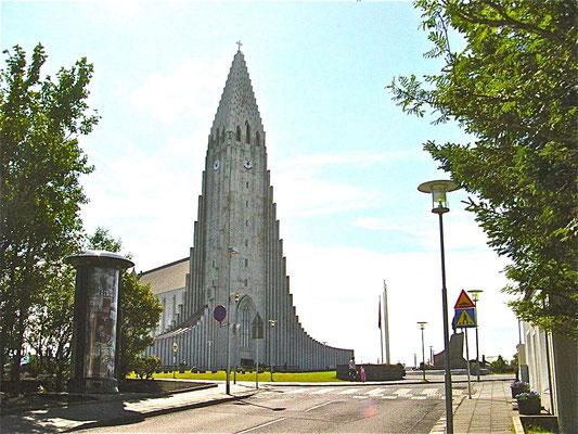 Grösste Kirche in Rykjavik