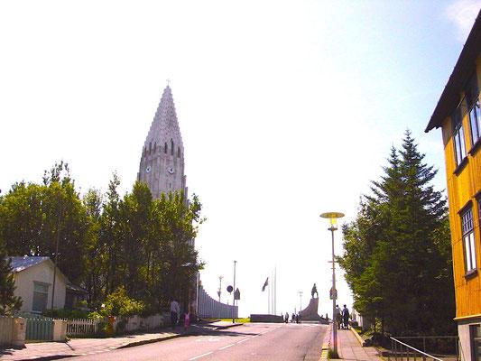Kirche in Reykjavik - Hallgrímskirkja