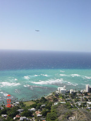 Honolulu. Diamond Head