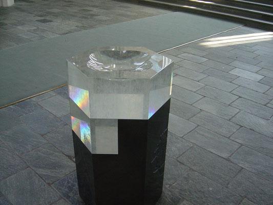 Kristall-Taufbecken