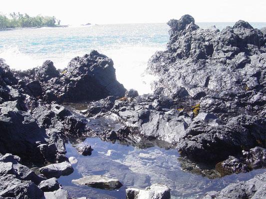 Überall nur vulkanisches Gelände