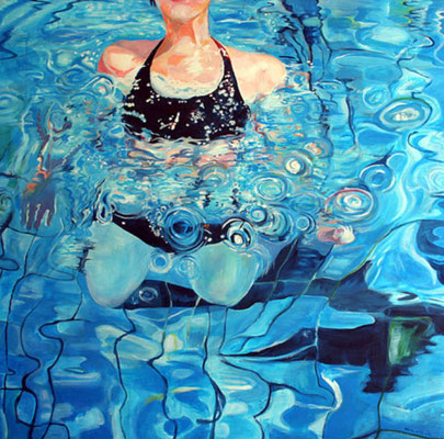 pool / 120 x 120 / private collection