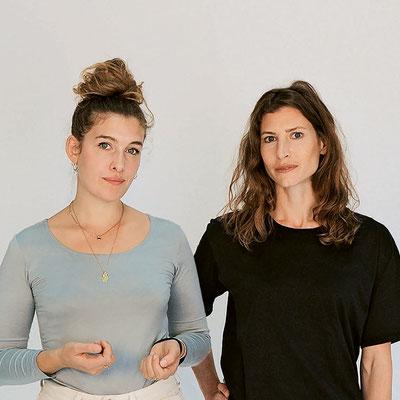 «Wir schöpfen Kraft aus dem Team», sagen die zwei Forscherinnen  in gemeinsamer Mission:  Künstlerin Marie Griesmar und Biologin Ulrike Pfreundt treiben  ihre Vision der Riffrestauration  mit «rrreefs» weiter voran.