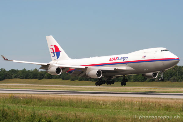 Boeing B747-400F, MasKargo, TF-MPR
