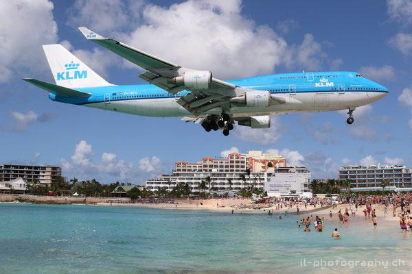 Boeing B747-400, KLM, PH-BFG