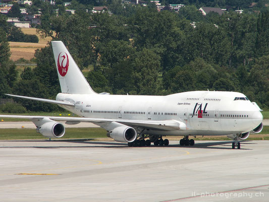 Boeing B747-400, JAL Japan Air Lines, JA8921