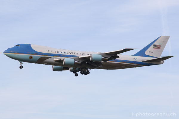 "Boeing B747-200/VS-25, US Air Force ""Air Force One"", 29000"