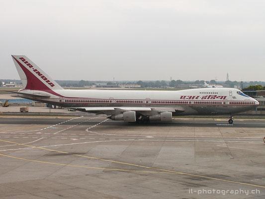 Boeing B747-200, Air India, VT-EGC
