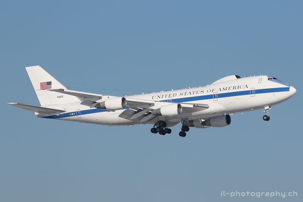 Boeing B747-200/E-4B, US Air Force, 50125