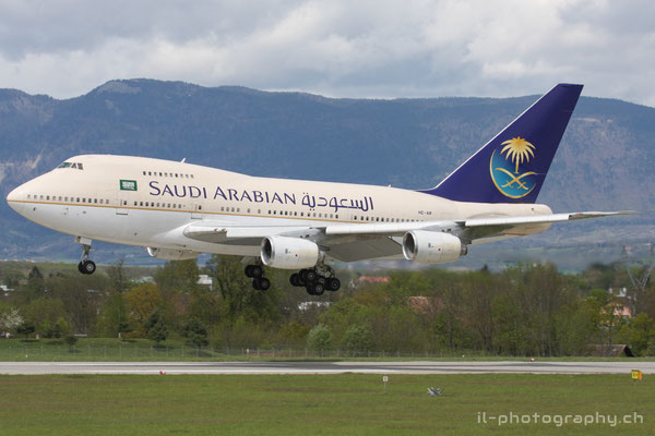 Boeing B747SP, Saudi Arabian Royal Flight, HZ-AIF