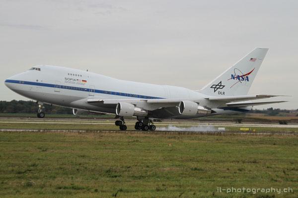 Boeing B747SP Sofia, NASA, N747NA