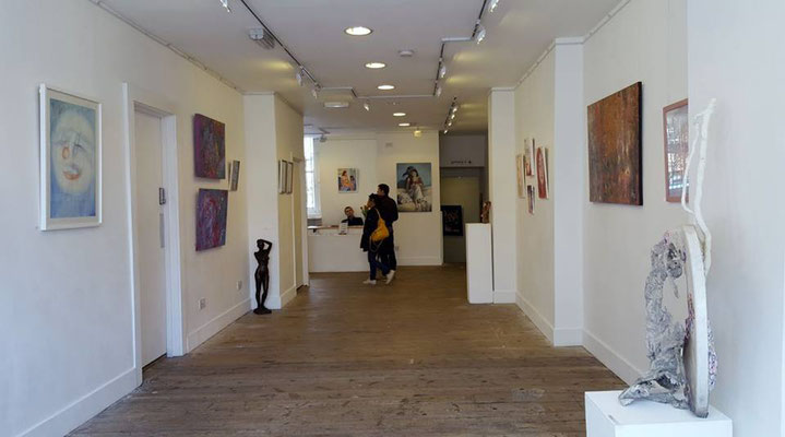 "Espacio Gallery, exhibition ""Between the Lines"" (ground floor), photo: Espacio Gallery"