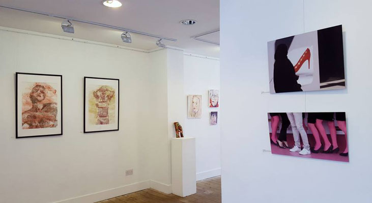 "Espacio Gallery, exhibition ""Between the Lines""   (ground floor), photo: Espacio Gallery."