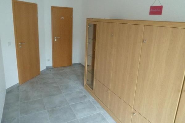 Bothmann strandnahe Ferienwohnungen auf Usedom, Karlshagen, Lindenweg 6e: schlafen (2) - mit zugeklapptem Bett