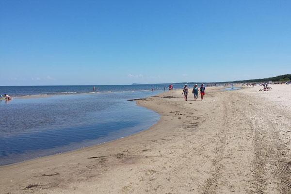 herrlicher Sand-Strand. Mit direktem Zugang über die Düne. Nur 60m zur Ferienwohnung. (Bothamnn -Strandnahe Ferienwohnungen, Usedom)