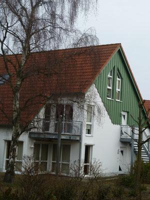 Bothmann - strandnahe Ferienwohnungen auf Usedom, Karlshagen, Weidenweg - obere Ebene: schlafen (1), schlafen (2), WC