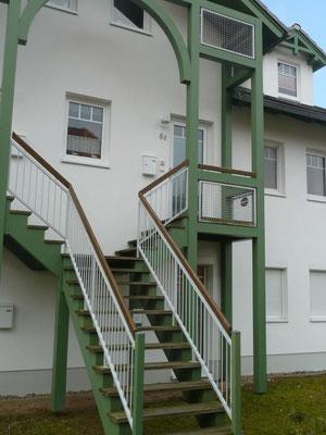 Bothmann strandnahe Ferienwohnungen auf Usedom, Karlshagen, Lindenweg 6e - für bis zu 4 Personen - Eingang
