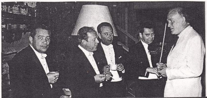 С бородинцами. 1968.