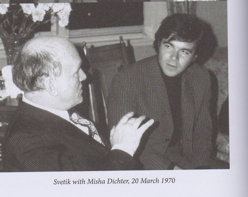 with Misha Dichter 20-03-1970