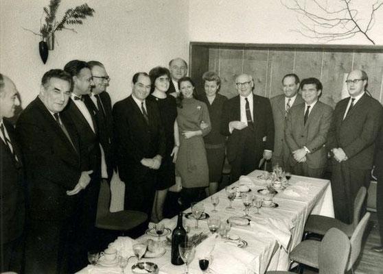 1963 год. Министерство культуры. Прием в честь Сола Юрока.