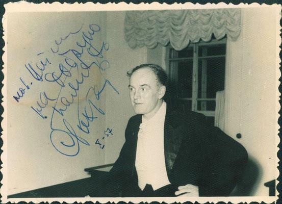 Цейтлину Виктору Соломоновичу, директору Томской филармонии, 10/1957