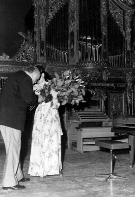 После исполнения Ружичковой Гольдберг-Вариаций, 1975 г.