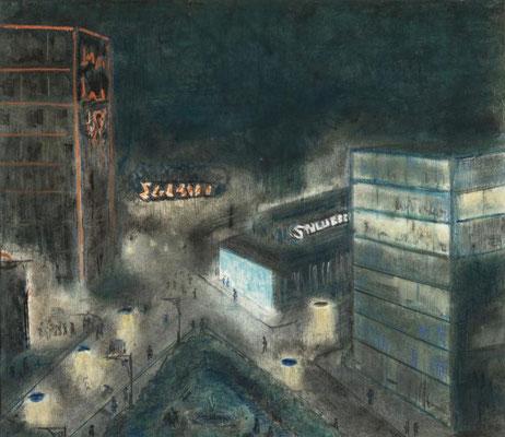 21) 1956 город ночью