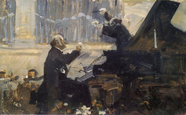 STRAUSS. Burleske. 18/12/61 – Moscow – Live – State S.O./Rozhdestvensky
