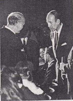 Рихтер и Жискар д'Эстен, 1970.