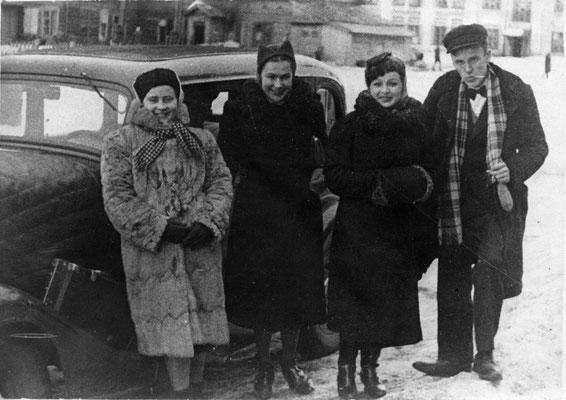 Рихтер и бригада Московской филармонии. 1943 г.