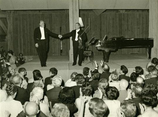 02/07/67 – Парсэ Мэле, около Тура. IV музыкальные празднества в Турени
