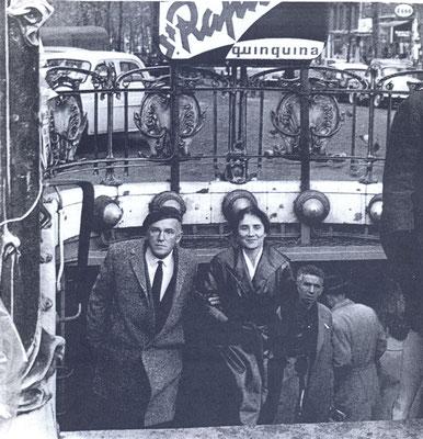 Paris 10-1961_Metro Blanche