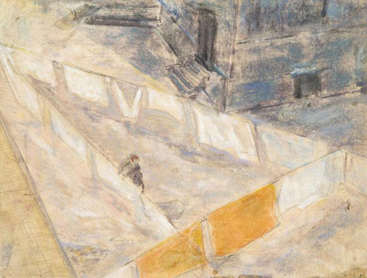 20) 1956_двор с висящим бельем