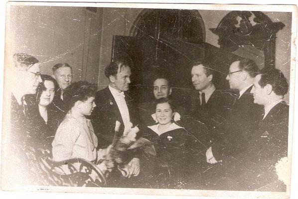 13/12/53 – Рига, Госуниверситет, сольный концерт. Из архива Noemy Belinkaya