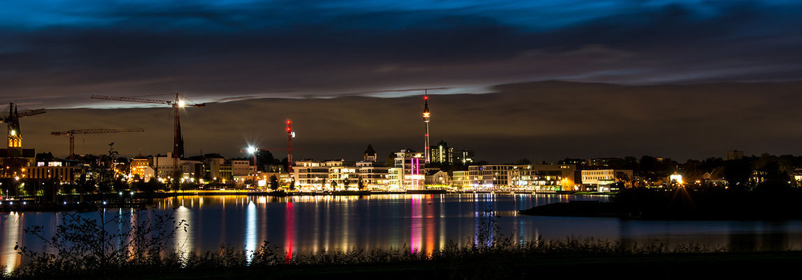 Dortmunder Skyline by night