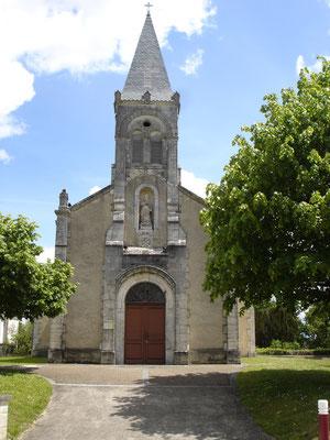 Eglise vue extérieure