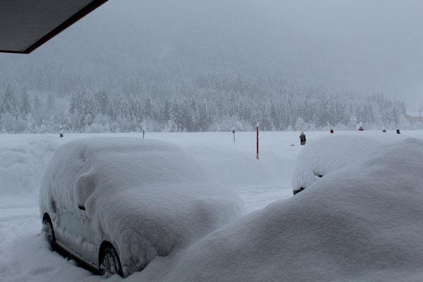 Ihr Auto nach einer schneereichen Nacht :)