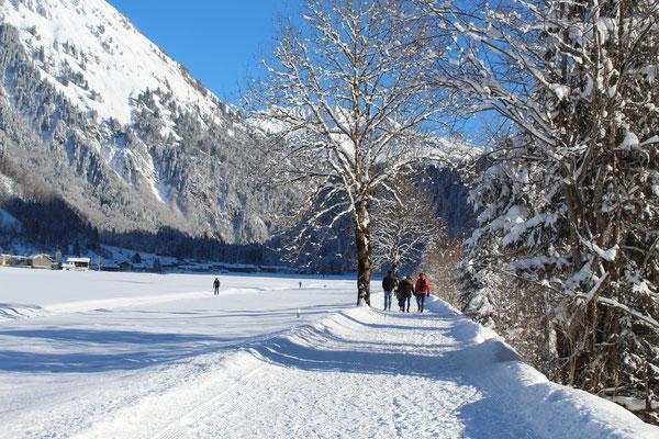beim Winterspaziergang