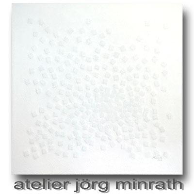 2018 - Mischtechnik auf Leinwand - 60 x 60 x 2 cm - copyright © 2003-2018 by Jörg Minrath