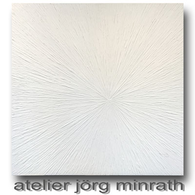2018 - Strukturarbeit auf Leinwand - 100 x 100 x 2 cm - copyright © 2003-2018 by Jörg Minrath