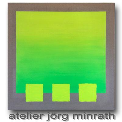 2017 - Mischtechnik auf Leinwand - 100 x 100 x 2 cm - copyright © 2003-2018 by Jörg Minrath