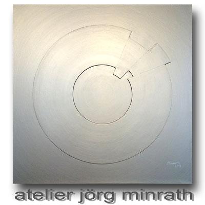 2016 - Strukturarbeit auf Leinwand - 90 x 90 x 2 cm - copyright © 2003-2018 by Jörg Minrath