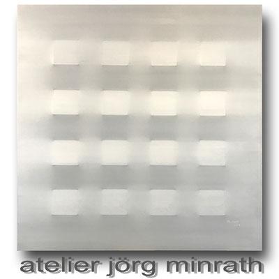 2018 - 3D Objekt auf Leinwand - 100 x 100 x 4 cm - copyright © 2003-2018 by Jörg Minrath