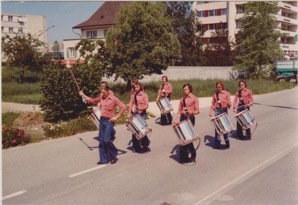 1976: Zentralschweizerisches Tambourenfest in Biberist