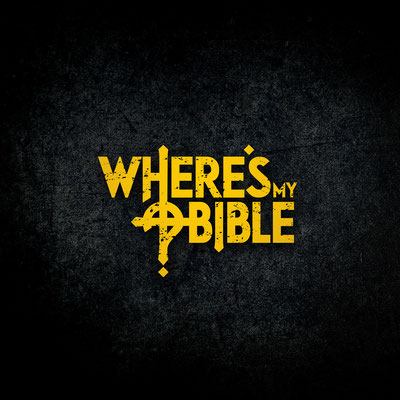 Where's My Bible – logon, levynkansien, sinkkukansien ja Facebook-bannereiden suunnittelu